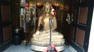 Buddha pervezimas Vilniuje